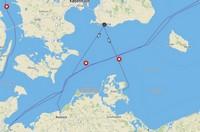 Overtocht Zweden - Rostock Trellenborg