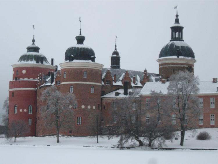 Vakantie Zweden Tips - Gripsholms slott winter