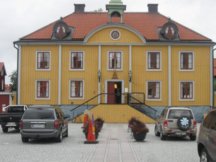 Vakantie Zweden Tips - Gemeentehuis Mariëfred