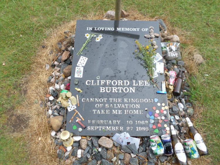 Vakantie Zweden Tips - Monument Cliff Burton in D?rarp