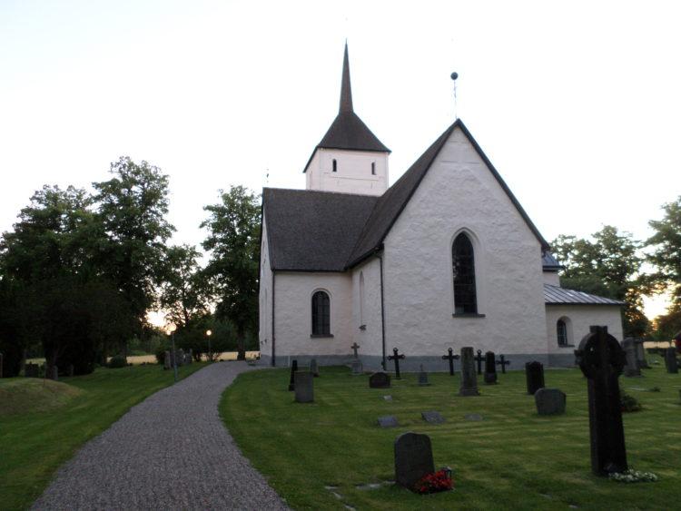 Vakantie Zweden Tips - Kerk op eiland Sela?n