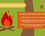 Infographic trucs voor wildkamperen